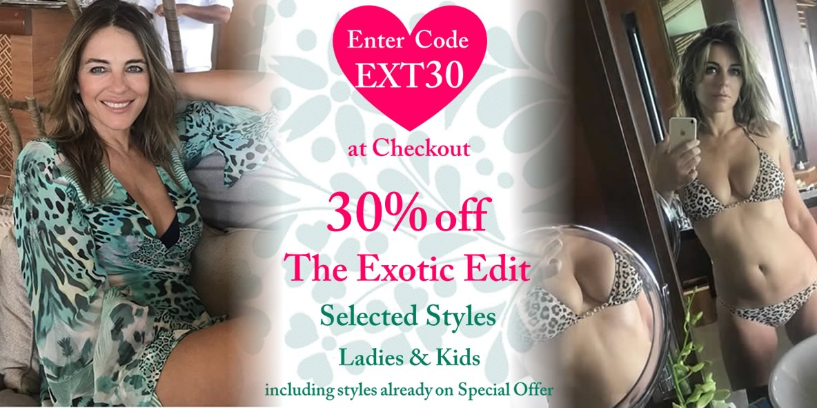 30% off The Exotic Edit