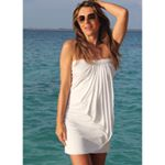 Our Grecian Mini is the perfect cover up 😘 @elizabethhurley1