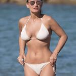 @samanthafaiers looking phenomenal in our Ivory Snake Bikini- pregnant and all! Wow 😍