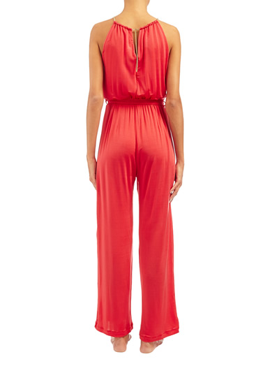 Chinese Red Jumpsuit