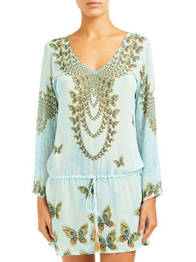 Peacock Butterfly Tunic