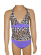 Cheetah Lilac Tankini Set