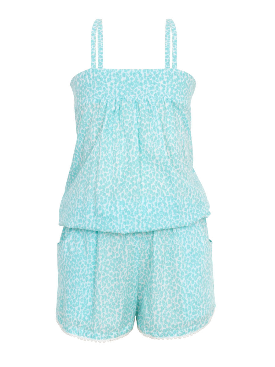 Aqua Safari Playsuit