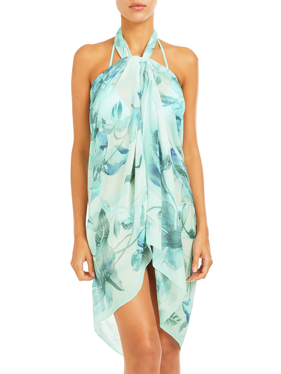 Lily Flower Sarong